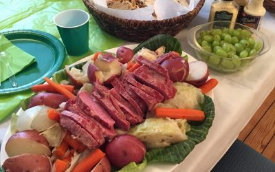 St. Patrick's Day at the Home
